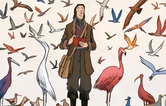 A New Graphic Novel Chronicles the Adventures of John James Audubon