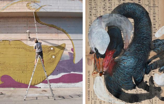 Italian Street Artist to Reenact Audubon's Quest