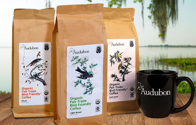 Coffee Produced in Bird-Friendly Habitats
