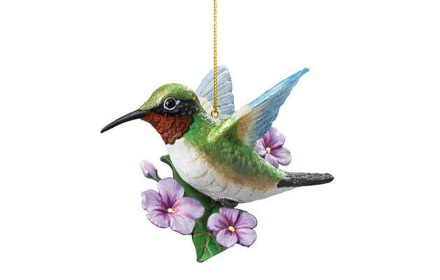 Audubon Songbird Ornaments