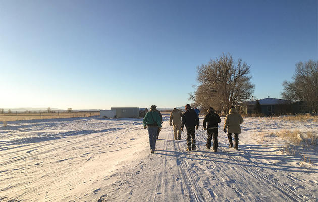 Subzero Temperatures Couldn't Stop This Rugged Wyoming Christmas Bird Count