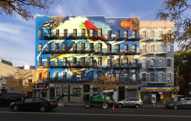 Endangered Harlem by Gaia