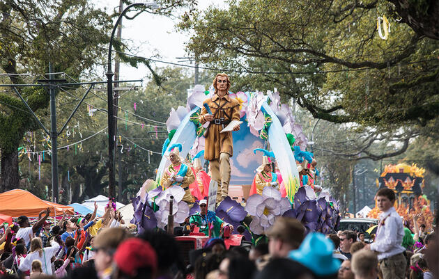 John James Audubon Made a Mardi Gras Appearance