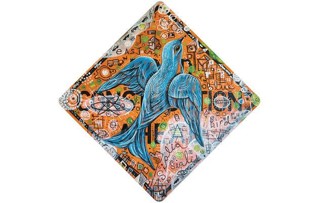 Reimaginando al azulejo garganta canela de John James Audubon