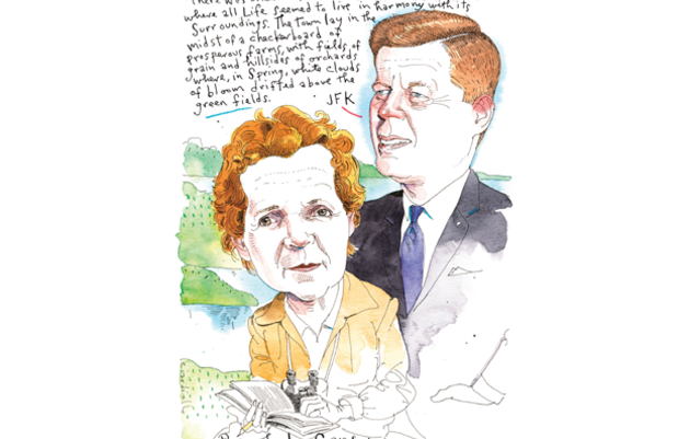 Rachel Carson and JFK, an Environmental Tag Team