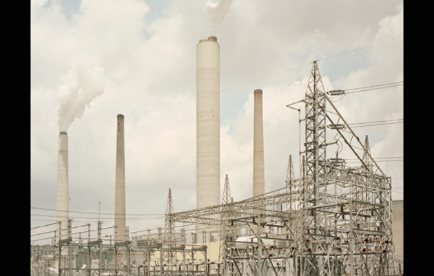 John E. Amos Power Plant, Winfield, West Virginia. Photograph by Daniel Shea