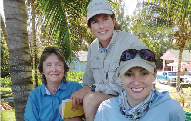 From the font lines (left to right): Marianne Korosy, Lindsay Addison, and Kerri Dikun Photograph by David Yarnold
