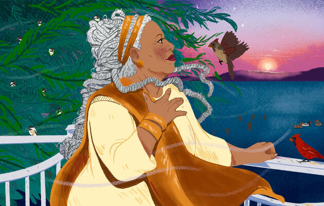 Remembering Toni Morrison, the Bird Whisperer
