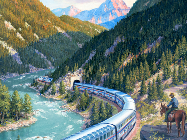 The Great Escape: Touring North America by Train