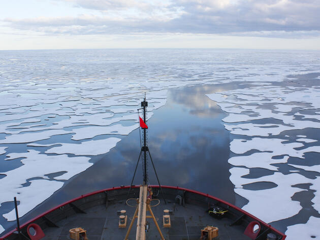 Beaufort Sea. Kathryn Hansen/NASA