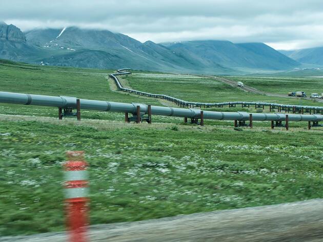 Dalton Highway, Arctic National Wildlife Refuge, Alaska. Peter Mather/National Geographic Creative