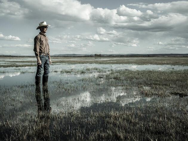 Gary Marshall Rancher and Business owner Broken Circle Company photographed at his ranch. John Clark