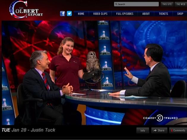 Stephen Colbert launches a full week of Superb Owl coverage