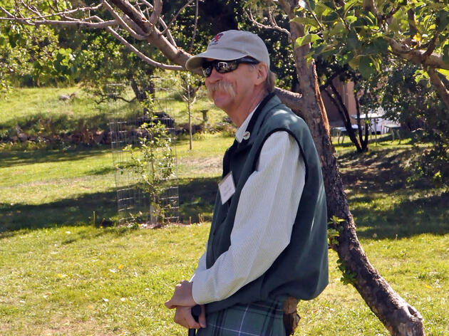 For more than a decade, David Henderson served as state director for Audubon New Mexico and headed Santa Fe's Randall Davey Audubon Center for 22 years. Photograph by Maryam Miller