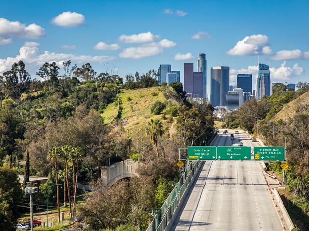 Los Angeles freeway during the coronavirus pandemic. adamkaz/iStock