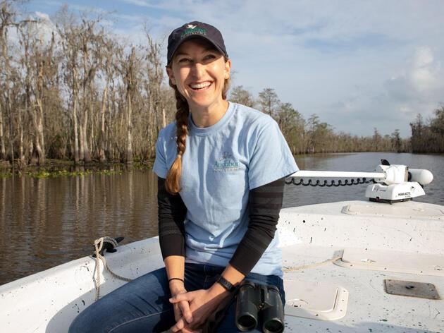 Audubon Spotlight: Katie Percy Is a Champion for Louisiana's Ecosystems