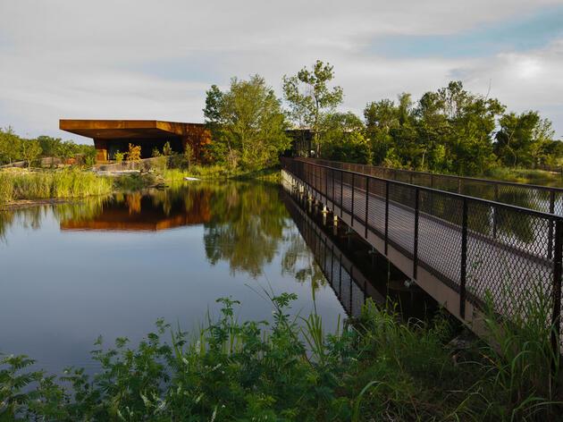 Trinity River Audubon Center. Sean Fitzgerald