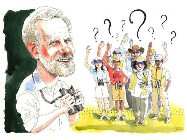Ask Kenn Kaufman: What's the Best Way to Become a Better Birder?