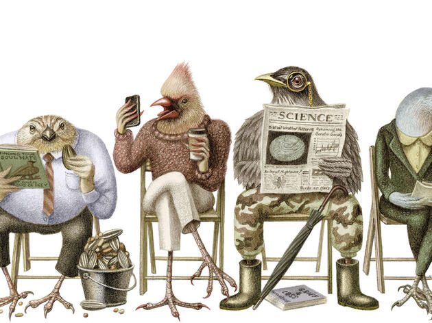 Bird Jobs of the Future and Other Avian-Inspired Stories From the Year 2100