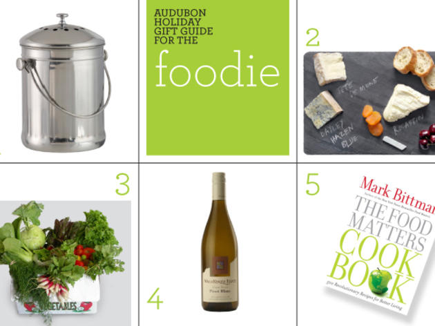 Audubon Holiday Gift Guide: Foodie