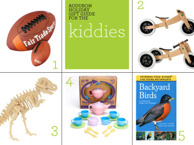 Audubon Holiday Gift Guide: Kiddies