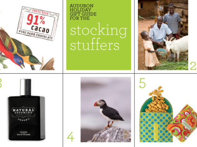 Audubon Holiday Gift Guide: Stocking Stuffers