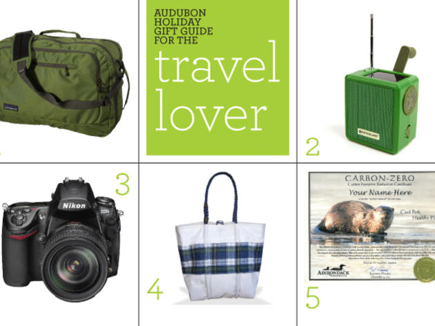 Audubon Holiday Gift Guide: Travel Lover