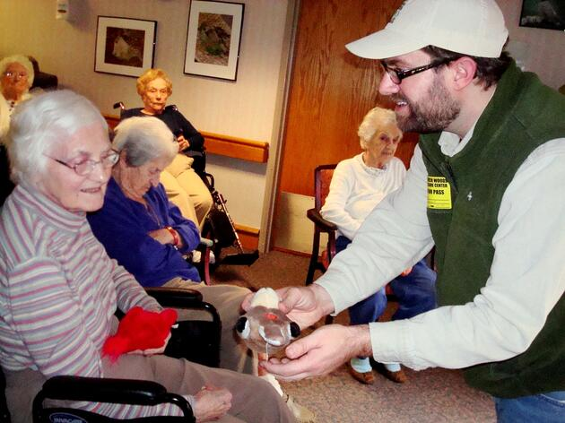 Innovative Audubon Program Connects Elders with Alzheimer's to the Outdoors While Creating Healthy Bird Habitats
