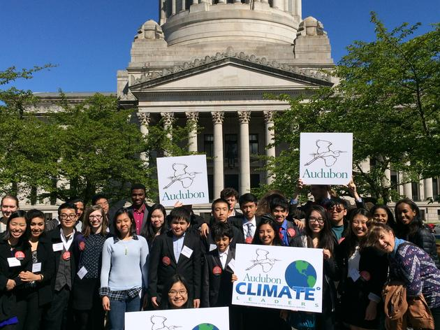 Washington Teens Make Their Voices Heard for the Environment