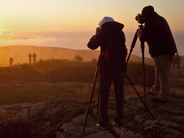 Cadillac Mountain. Acadia National Park, Maine. Sue Anne Hodges/Tandemstock.com