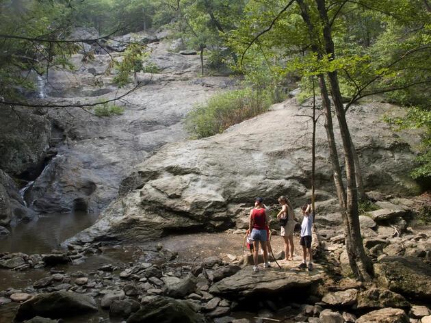 Cunningham Falls Park near Frederick, Maryland. Scott Warren/Aurora Photos