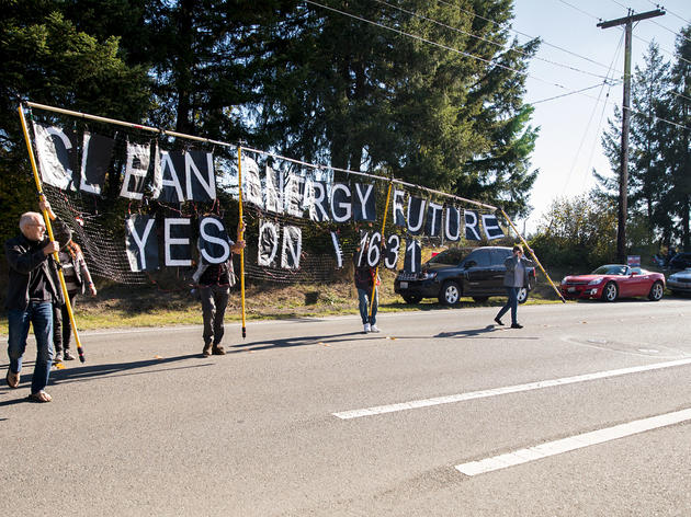 People Power vs. Corporate Funds Tested in Washington Carbon Fee Vote