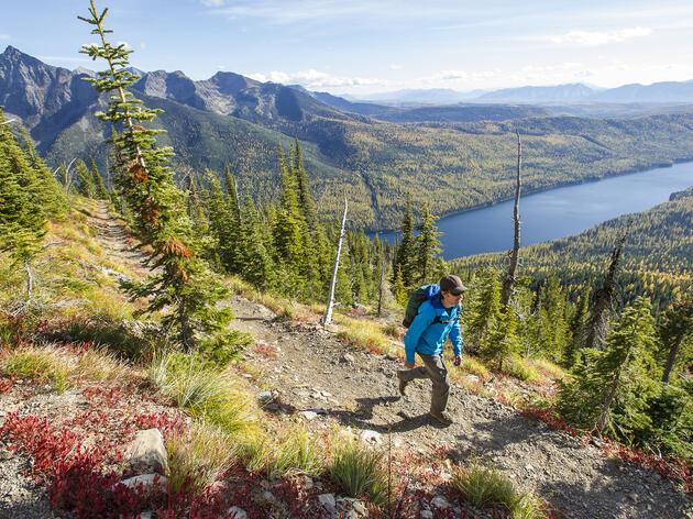 Numa Ridge Trail in Glacier National Park, Montana. Kim J. Phillips/Tandemstock.com