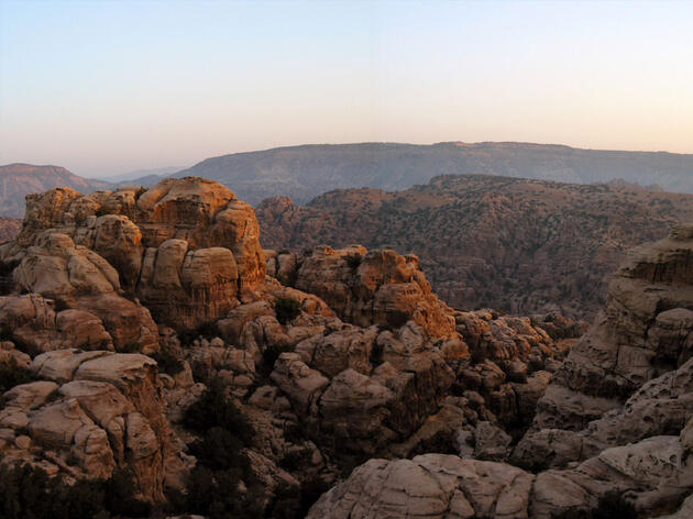 The biogeographical zones of the Iranian plateau, African savannah, Arabian desert, and Mediterranean climate merge at the Dana Reserve. Jiro Ose