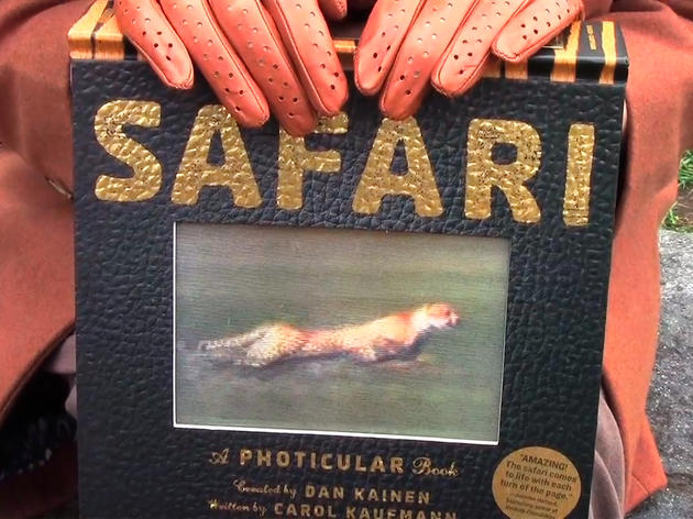 A Kitschy New Book and Video Take Audiences On Safari