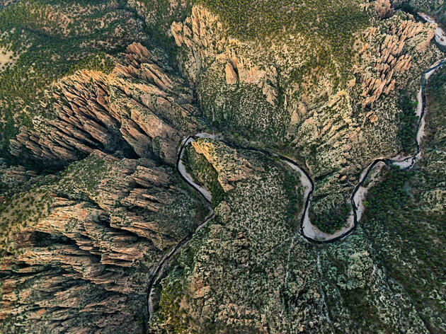 The middle fork of the Gila River in New Mexico's Gila National Forest. Michael Melford/National Geographic Creative