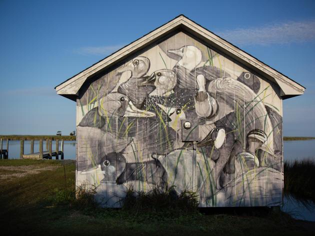 Hitnes' Next Murals Inspired by (Wooden) Ducks