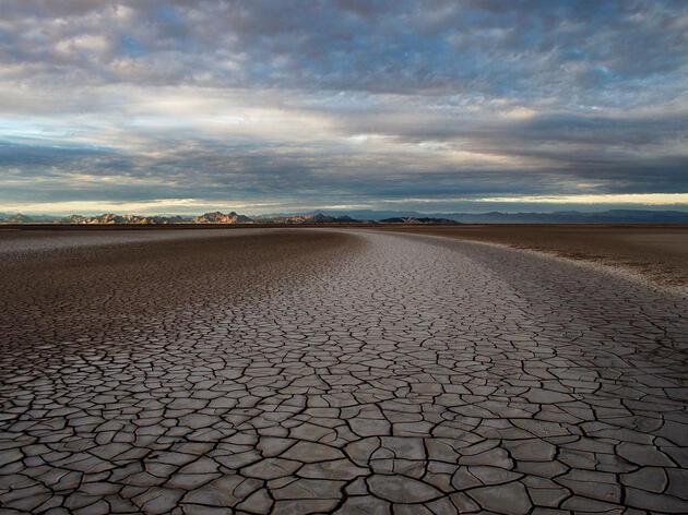 Este lugar, a 50 millas al sur de la frontera entre los Estados Unidos y México, alguna vez formó parte de los humedales Delta del Río Colorado, los cuales han sido eliminados en su totalidad a causa de las represas río arriba.