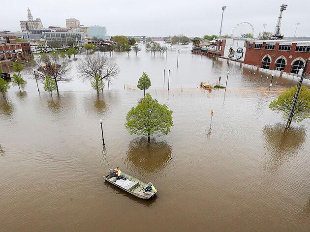Un mejor modo de reducir las inundaciones desastrosas en el río Misisipi