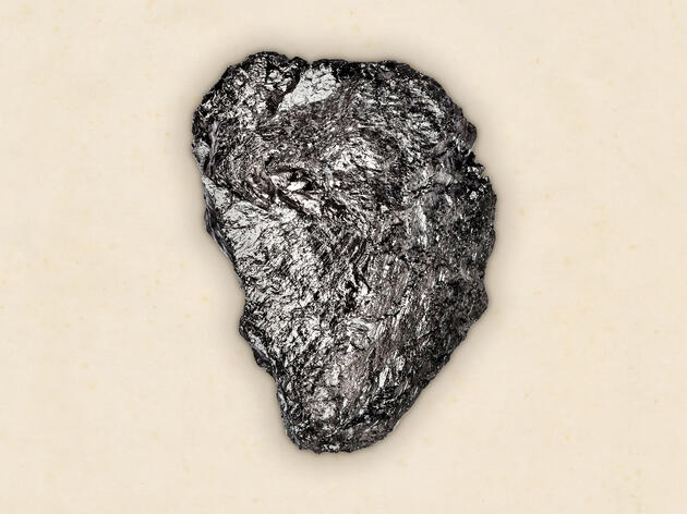 A lump of Anthracite Coal from a coal mine in West Virginia. Dan Winters