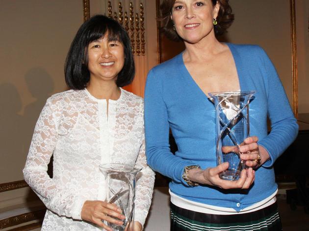2011 Rachel Carson Award winners Maya Lin & Sigourney Weaver Cutty McGill