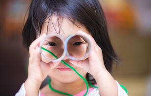 DIY Craft: How to Make Cardboard Binoculars for Kids