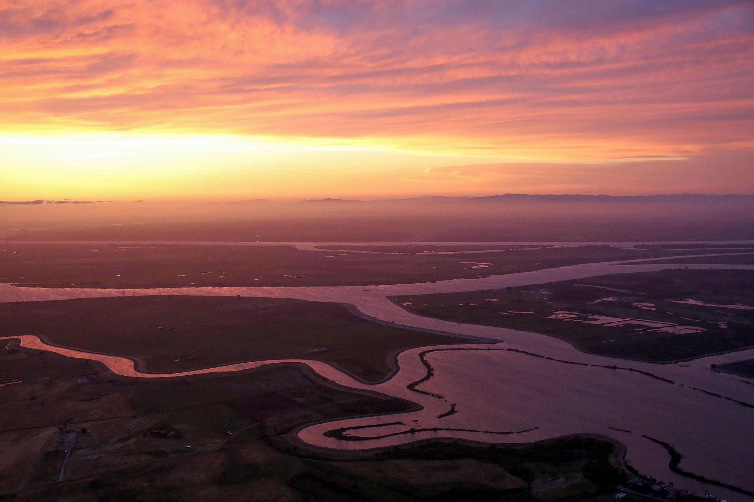 The Sacramento-San Joaquin Delta, where the Sacramento and San Joaquin rivers meet. Jim Wilson/The New York Times/Redux