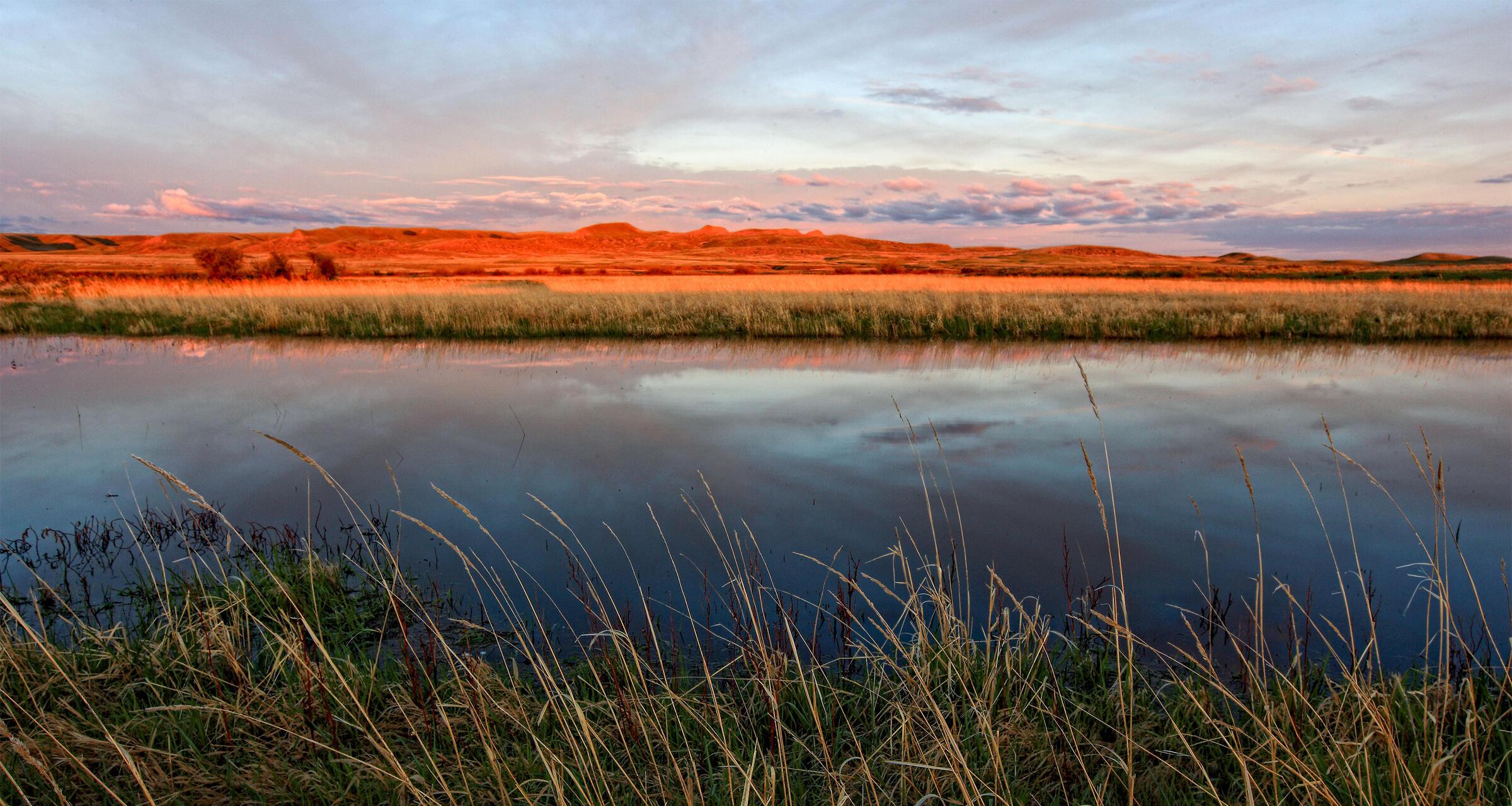 Grasslands National Park, Saskatchewan. All Canada Photos/Alamy