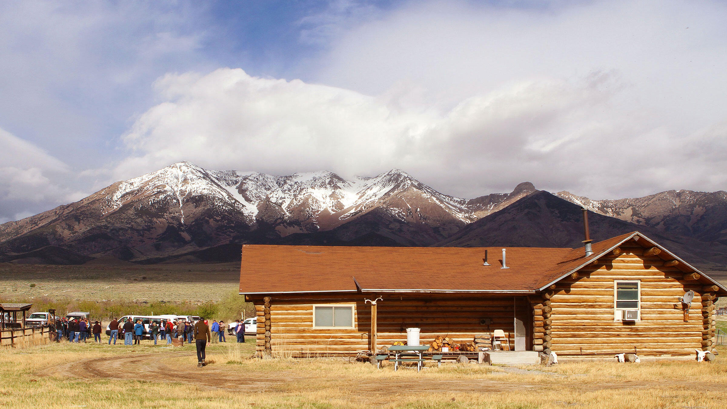 The TL Bar Ranch and Donner Spring in Box Elder County, Utah, is owned by ranchers Diane and Jay Tanner. Scott Root