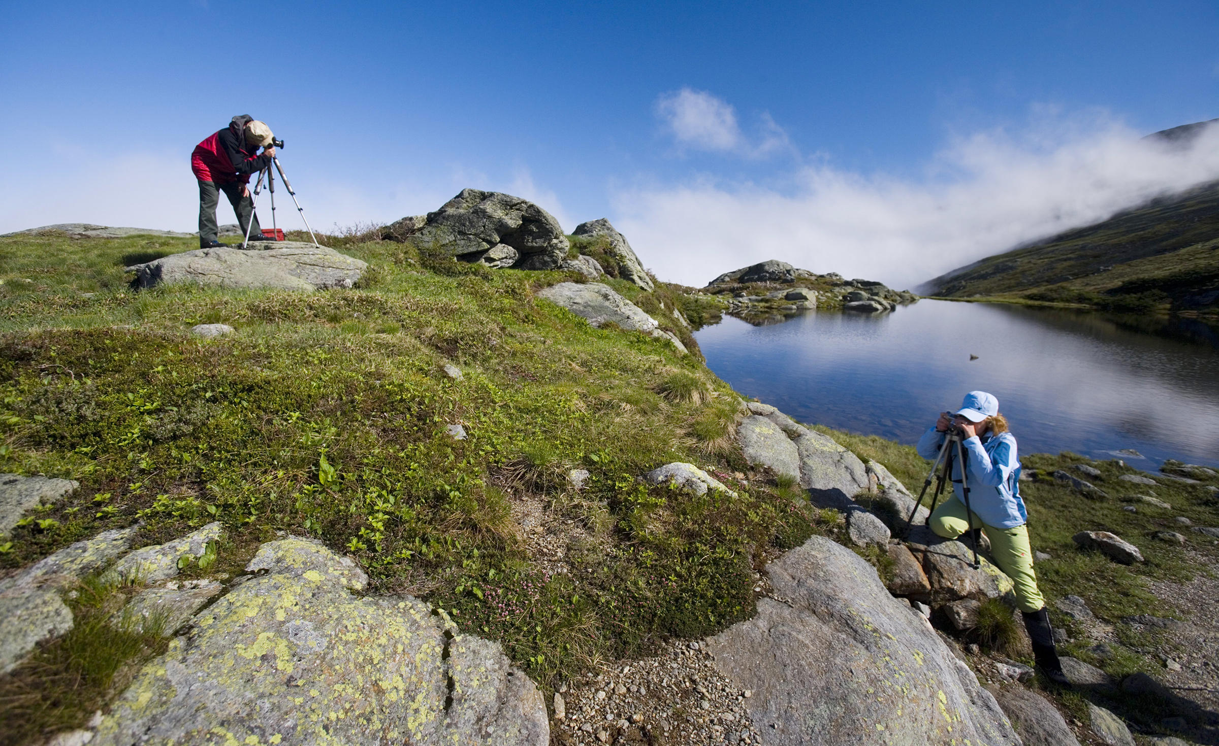 Between Mount Washington and Mount Monroe in New Hampshire's White Mountains. Jerry & Marcy Monkman/EcoPhotography