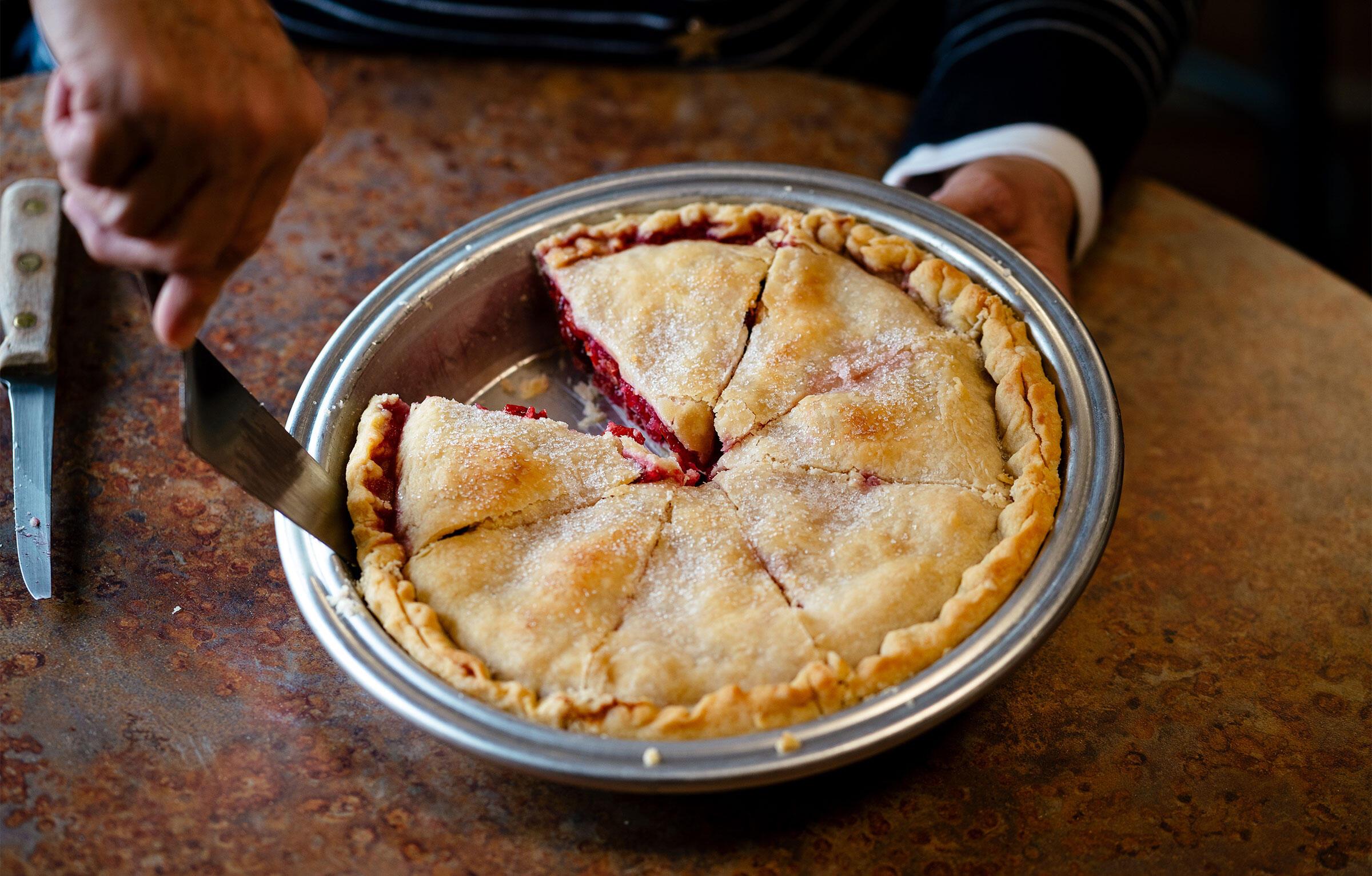 Brenda Lowe's Cherry-Berry Pie. Nick Hagen