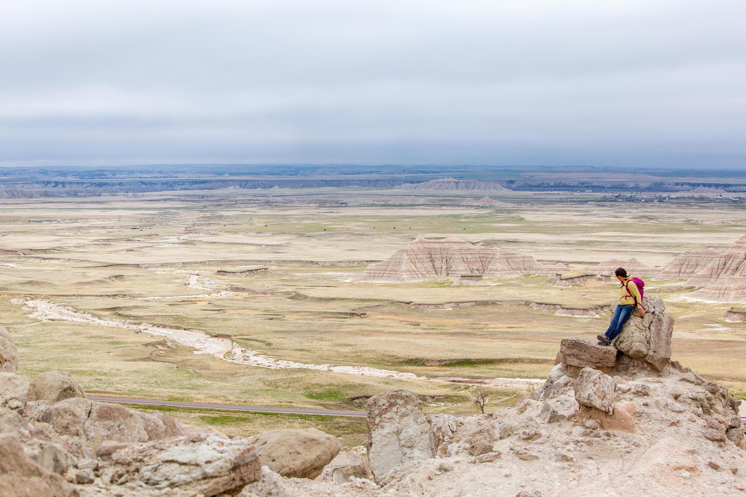 Saddle Pass Trail in the Badlands National Park, South Dakota. Ben Herndon/Tandemstock.com