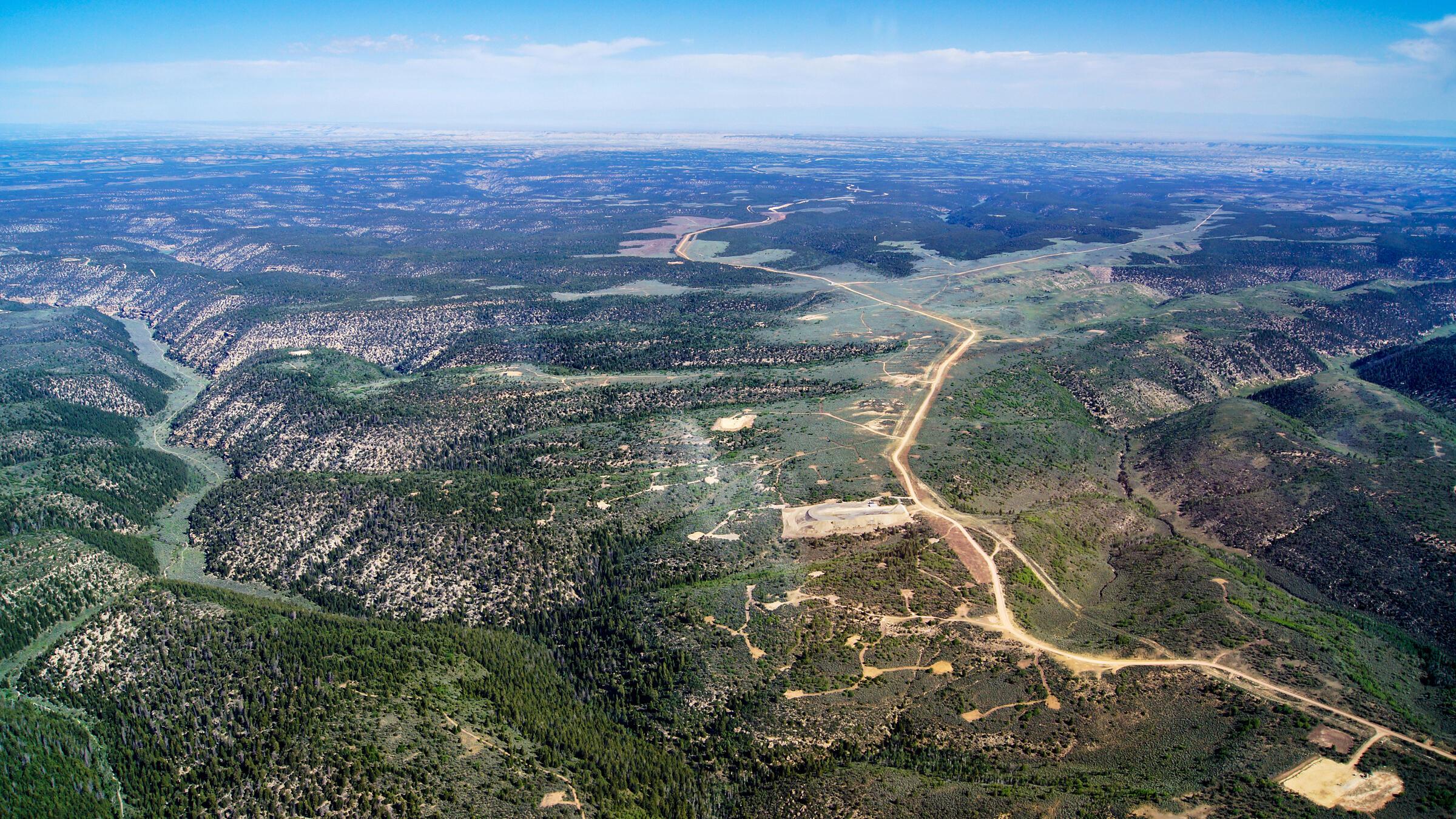 Tavaputs Plateau. EcoFlight