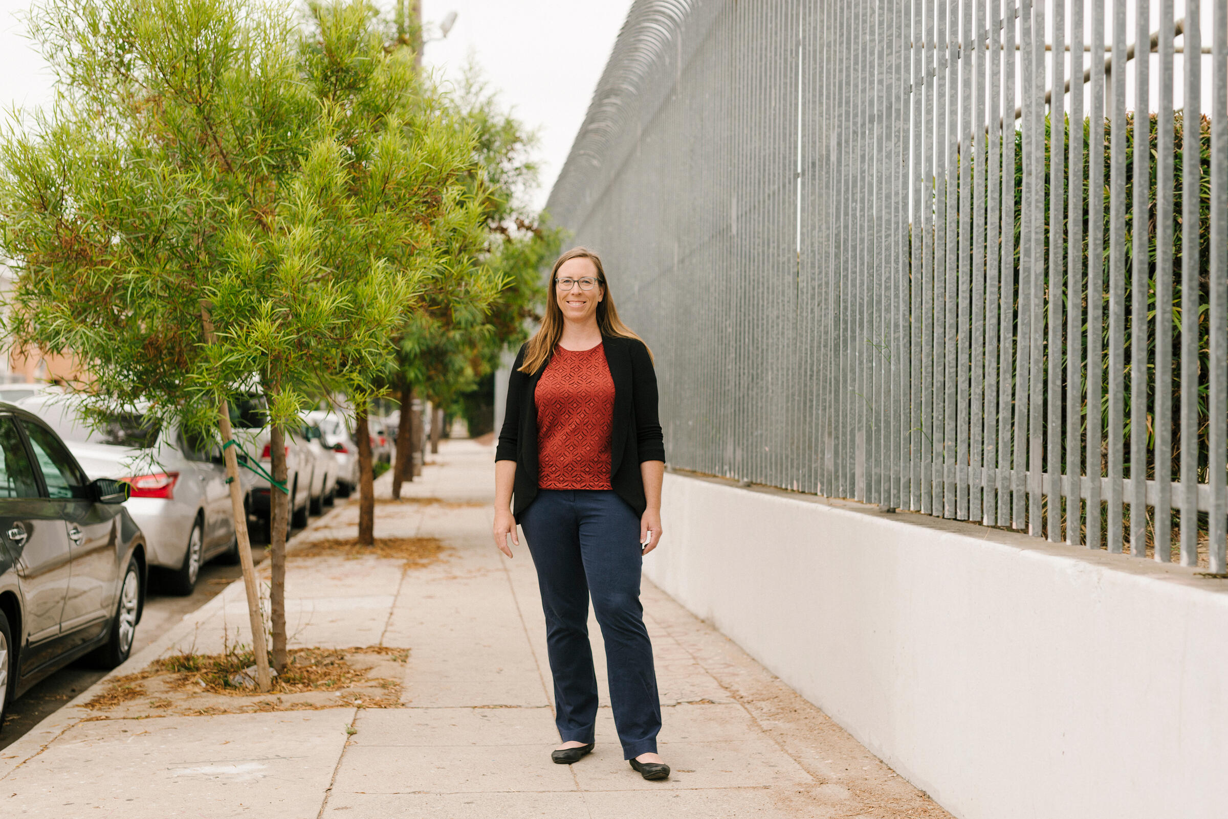 Rachel Malarich is the first-ever City Forest Officer of Los Angeles. Carmen Chan